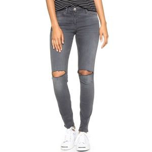3x1 W2 Busted Knee Mid-Rise Skinny Jean $235 (NWT)